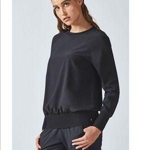 Fabletics track long sleeve shirt